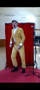 Un clown de théâtre à Vailhan